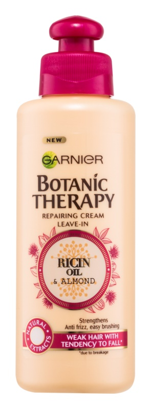 Garnier Botanic Therapy Ricinus Oil posilujicí péče pro slabé vlasy s tendencí vypadávat