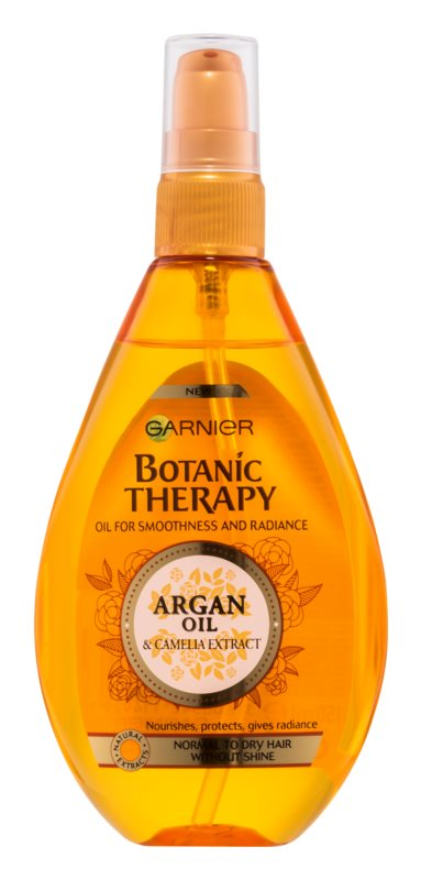 garnier botanic therapy argan oil huile nourrissante pour cheveux normaux ternes. Black Bedroom Furniture Sets. Home Design Ideas