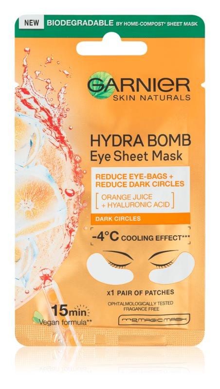 Garnier Skin Naturals Moisture+ Fresh Look povzbudzujúca očná maska