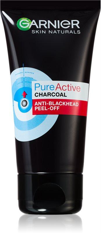 Garnier Pure Active mascarilla peel-off con carbón activado para eliminar los puntos negros