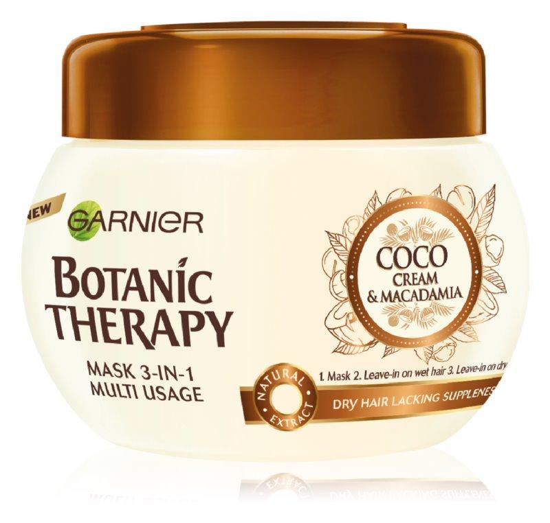 Garnier Botanic Therapy Coco Milk & Macadamia hranilna maska za suhe lase