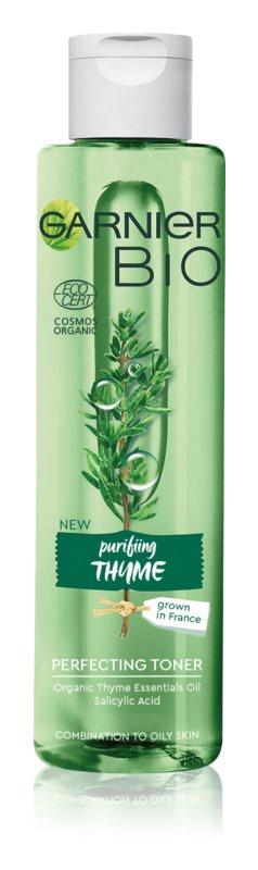 Garnier Bio Thyme voda za obraz za polepševanje