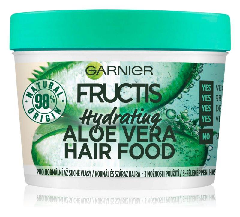 Garnier Fructis Aloe Vera Hair Food vlažilna maska za normalne do suhe lase