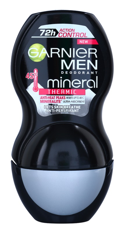 Garnier Men Mineral Action Control Thermic roll-on antibacteriano