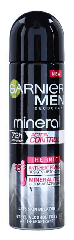 Garnier Men Mineral Action Control Thermic Anti - Perspirant Deodorant Spray