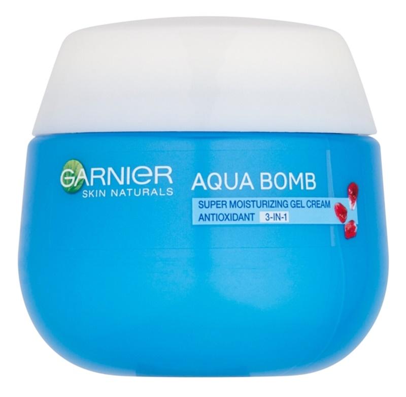 Garnier Skin Naturals Aqua Bomb hydratační antioxidační gelový krém 3v1 na den