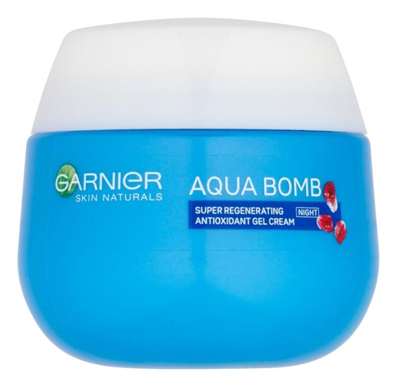 Garnier Skin Naturals Aqua Bomb regeneračný antioxidačný gélový krém na noc