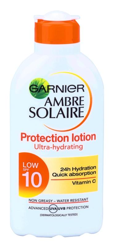 Garnier Ambre Solaire lait solaire SPF 10