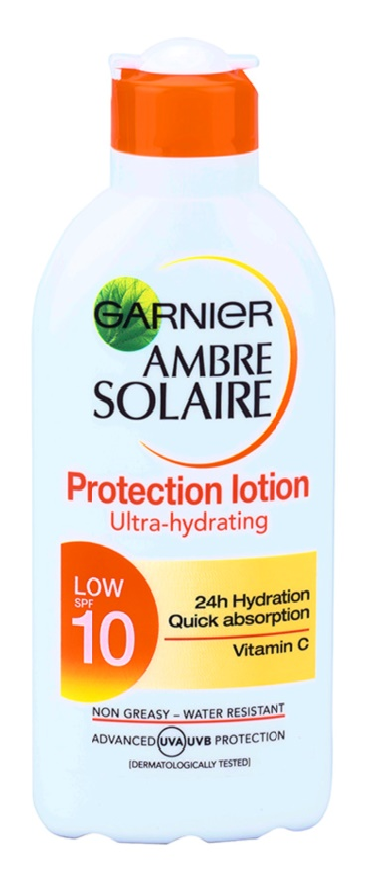 Garnier Ambre Solaire lotiune pentru bronzat SPF 10