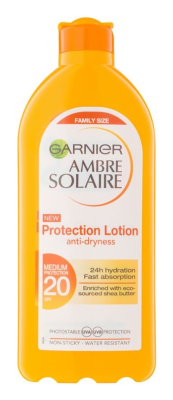 Garnier Ambre Solaire Protective Sunscreen Lotion SPF 20