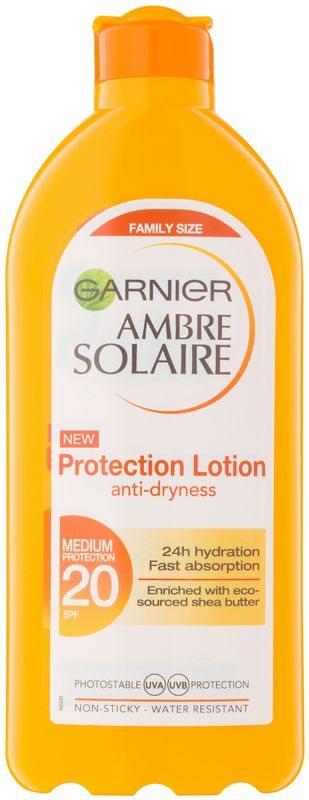 Garnier Ambre Solaire zaščitni losjon za sončenje SPF 20