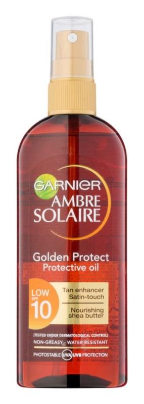Garnier Ambre Solaire Golden Protect huile solaire SPF 10