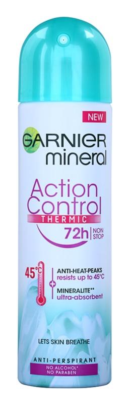Garnier Mineral Action Control Thermic deodorant spray antiperspirant