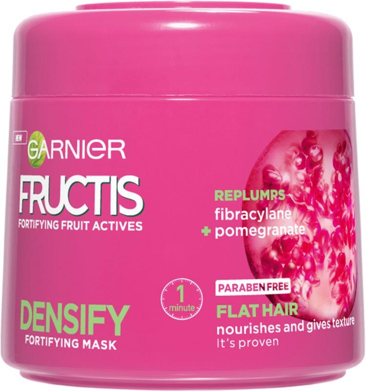 garnier fructis densify masque nourrissant cheveux pour donner du volume. Black Bedroom Furniture Sets. Home Design Ideas