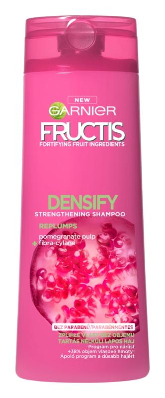 Garnier Fructis Densify champô reforçador para dar volume