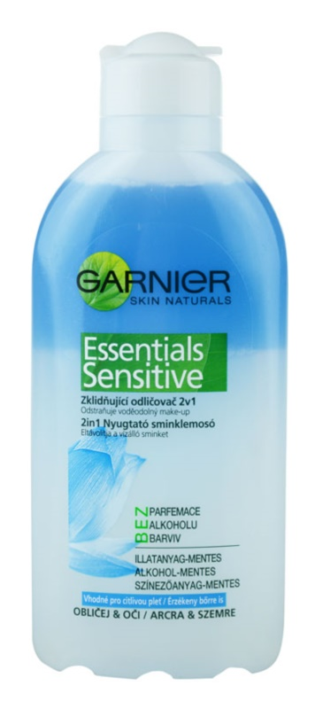 Garnier Essentials Sensitive démaquillant peaux sensibles