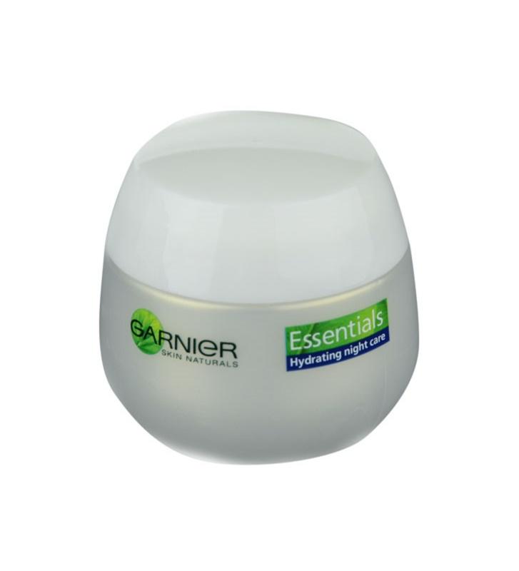 Garnier Essentials crème de nuit régénératrice pour tous types de peau