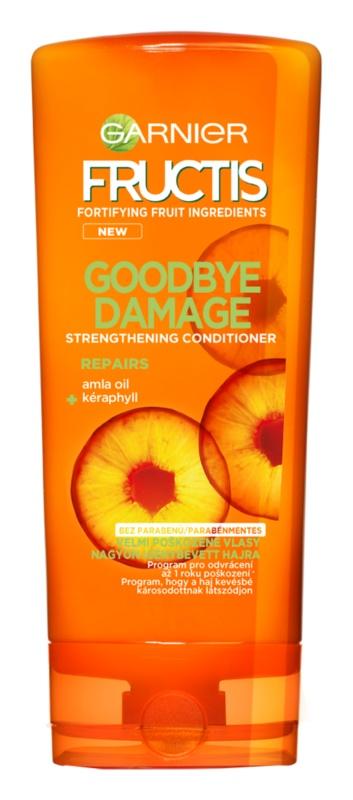 Garnier Fructis Goodbye Damage зміцнюючий бальзам для пошкодженого волосся