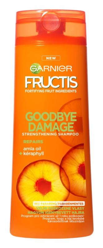 Garnier Fructis Goodbye Damage szampon wzmacniający do włosów zniszczonych