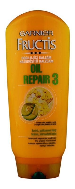 Garnier Fructis Oil Repair 3 posilující balzám pro suché a poškozené vlasy