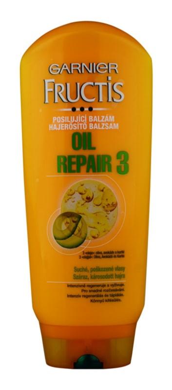Garnier Fructis Oil Repair 3 зміцнюючий бальзам для сухого або пошкодженого волосся