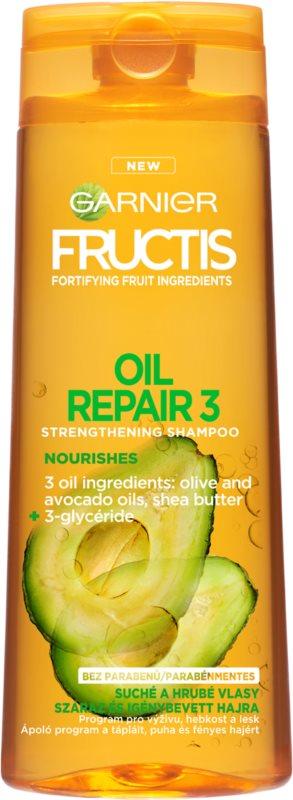 Garnier Fructis Oil Repair 3 posilňujúci šampón pre suché a poškodené vlasy