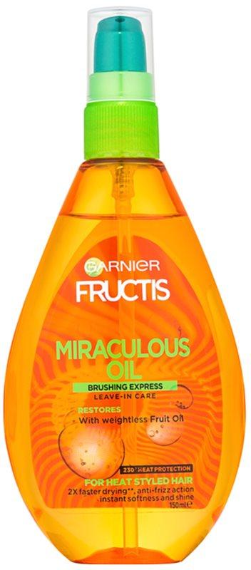 Garnier Fructis Miraculous Oil ochranný olej proti krepateniu vlasov