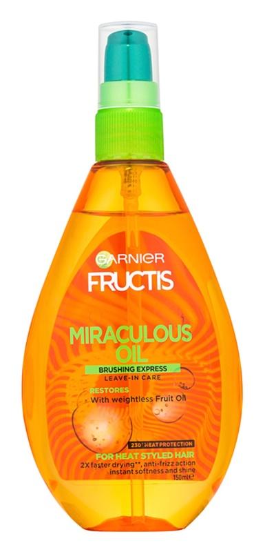 Garnier Fructis Miraculous Oil olejek ochronny do włosów