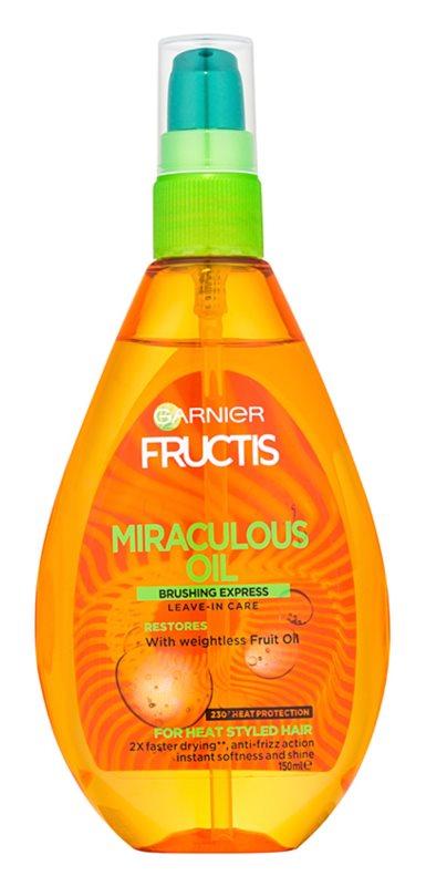 Garnier Fructis Miraculous Oil zaščitno olje proti krepastim lasem