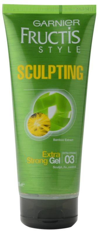 Garnier Fructis Style Sculpting gel de cabelo com extrato de bambu