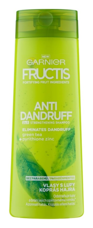 Garnier Fructis Antidandruff 2in1 shampoo antiforfora per capelli normali