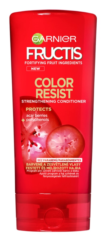 Garnier Fructis Color Resist erősítő balzsam festett hajra