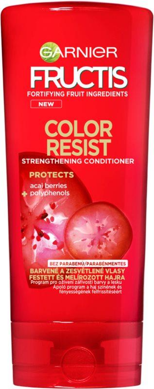 Garnier Fructis Color Resist подсилващ балсам за боядисана коса