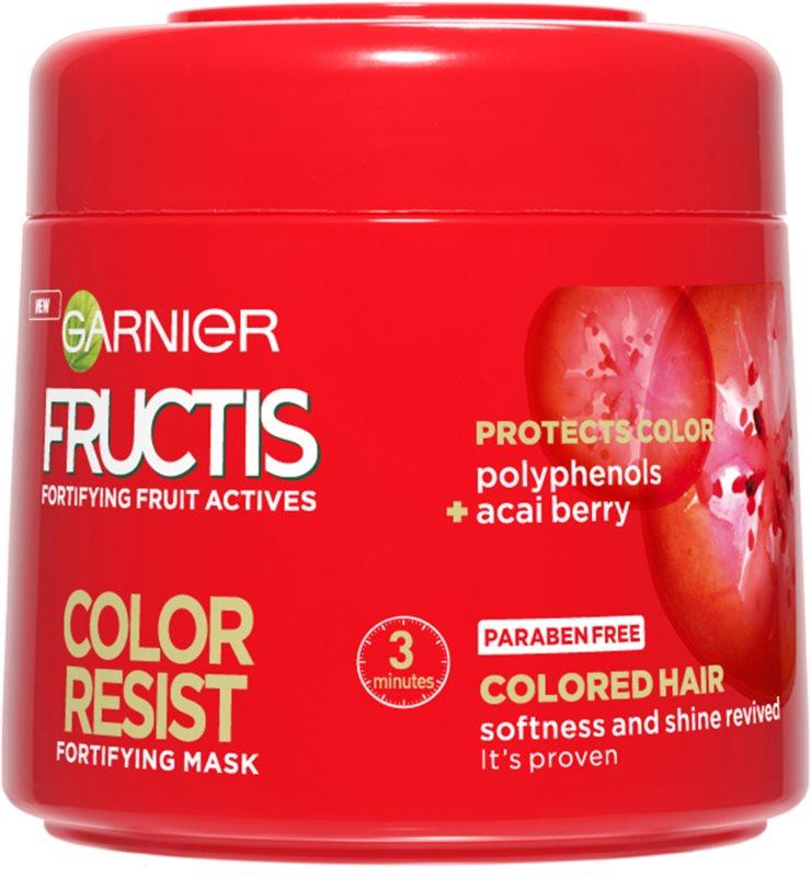 Garnier Fructis Color Resist maseczka odżywcza chroniący kolor