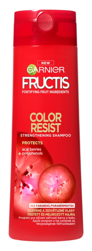Garnier Fructis Color Resist erősítő sampon festett hajra