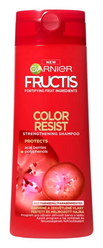 Garnier Fructis Color Resist szampon wzmacniający do włosów farbowanych