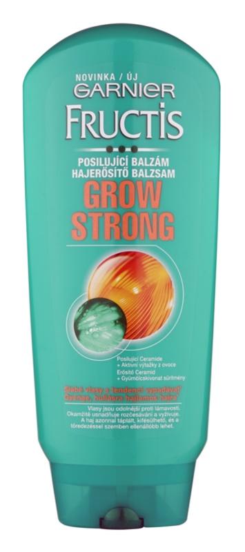 Garnier Fructis Grow Strong bálsamo fortificante para cabello debilitado