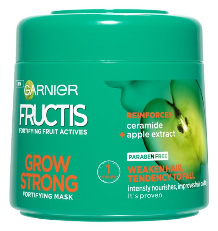 Garnier Fructis Grow Strong зміцнююча маска для слабкого волосся