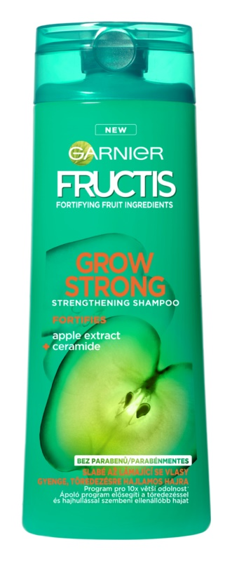 Garnier Fructis Grow Strong posilňujúci šampón na slabé vlasy