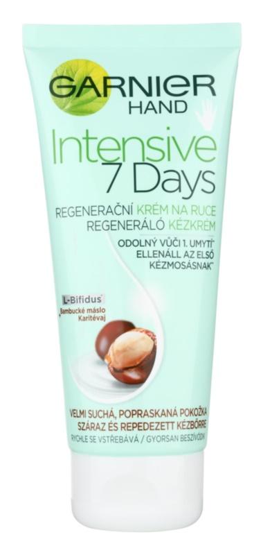 Garnier Intensive 7 Days crema regeneradora para manos