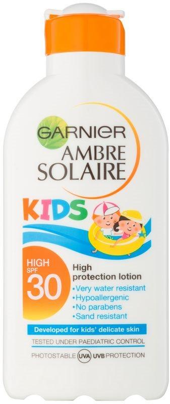 Garnier Ambre Solaire Kids lait protecteur pour enfant SPF30