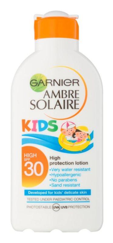 Garnier Ambre Solaire Kids lapte protector pentru copii SPF30