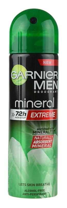 Garnier Men Mineral Extreme antitranspirante em spray