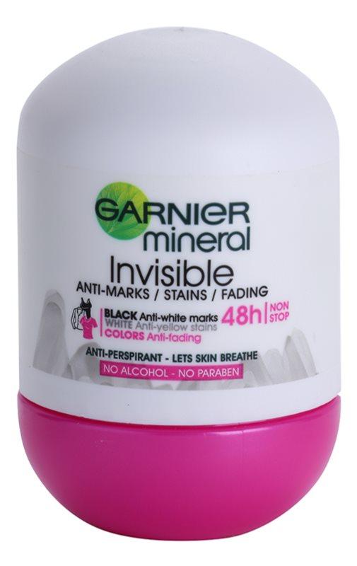 Garnier Mineral Invisible antiperspirant roll-on pro ženy