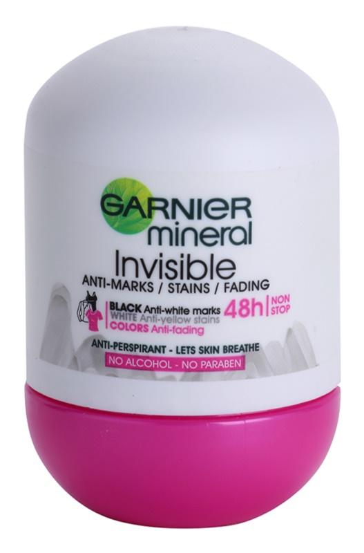 Garnier Mineral Invisible antyperspirant roll-on dla kobiet