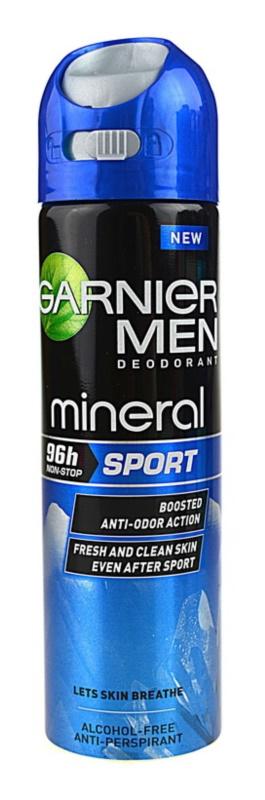 Garnier Men Mineral Sport antitranspirante em spray