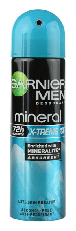 Garnier Men Mineral X-treme Ice antiperspirant ve spreji