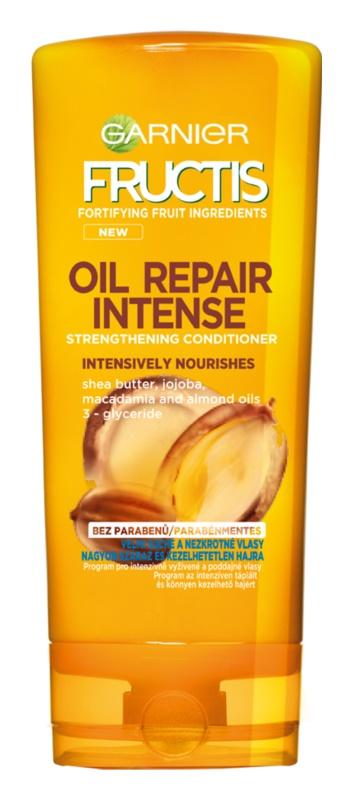 Garnier Fructis Oil Repair Intense balsam pentru indreptare pentru parul foarte uscat