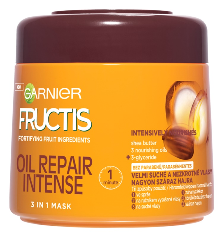 Garnier Fructis Oil Repair Intense multifunkční maska 3 v 1