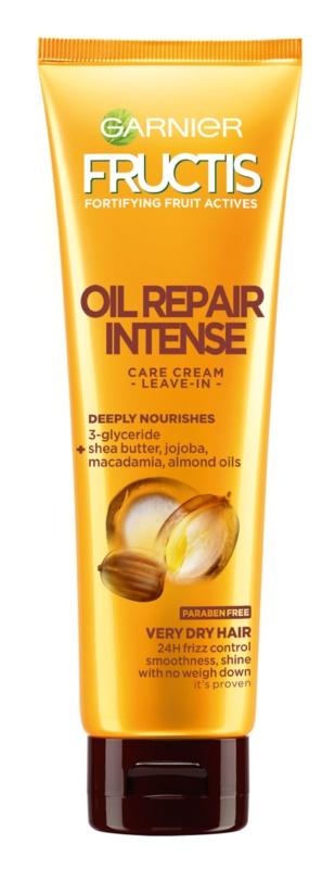 Garnier Fructis Oil Repair Intense ingrijire leave-in pentru parul foarte uscat